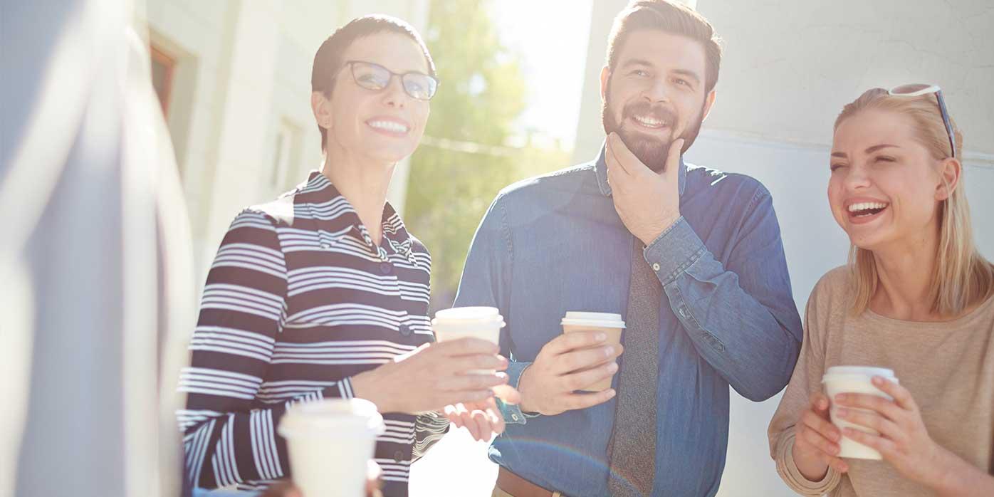 Mitarbeitermotivation – glückliche Mitarbeiter
