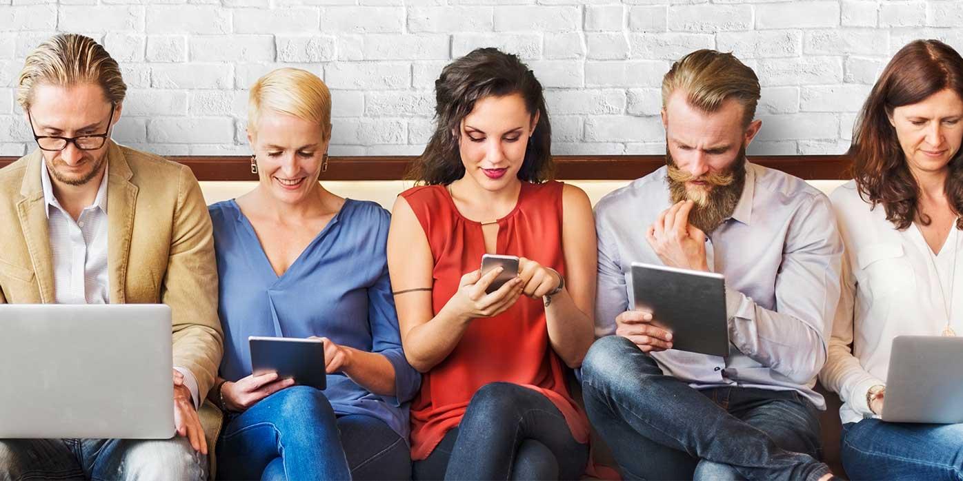 Computer, Tablet oder Smartphone – Digitale Transformation
