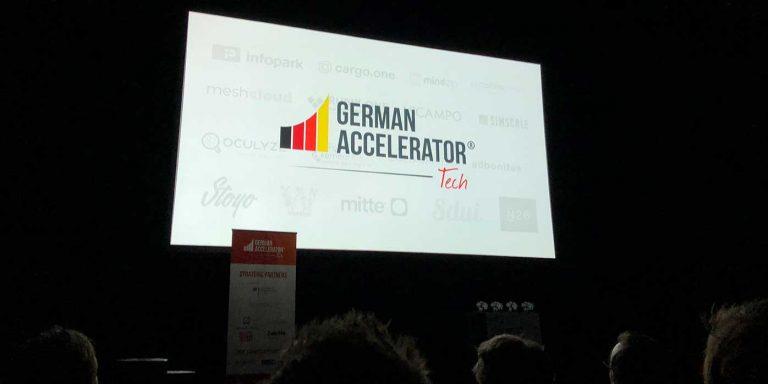 Veranstaltung German Accelerator 2018