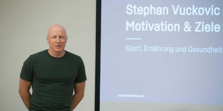 Vortrag von Stephan Vuckovic