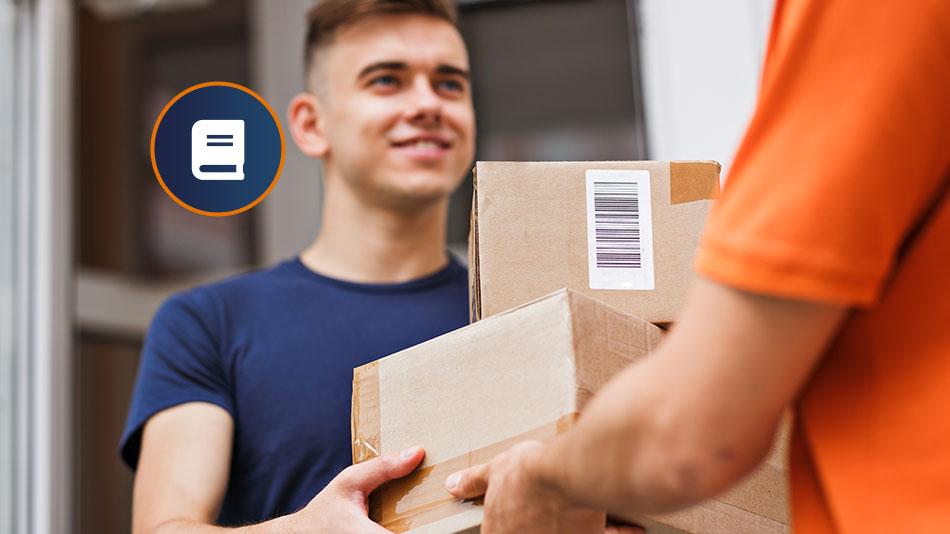 Paketübergabe-durch-logistiker